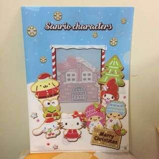 快圖美 Sanrio A4 快勞 1 個 (Fotomax file Hello Kitty Little twins stars Melody布甸狗 青蛙 玉桂狗)