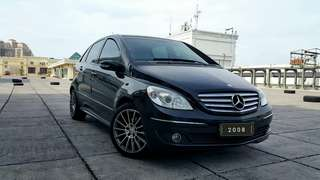 Mercedes Benz B170 class AT 2008 hitam metalik