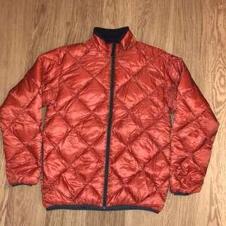 Montbell 橙色羽絨外套