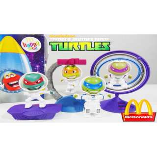 TMNT 2016 McDo Happy Meal Toy Set