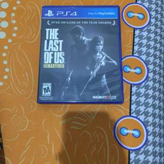Jual The Last of us Remastered PS4