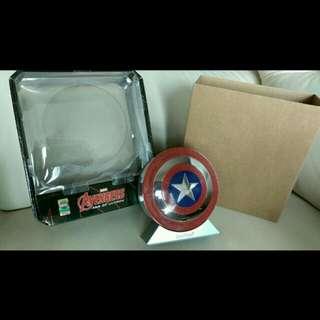 全新Marvel, Captain America Bluetooth speaker/7800mAh power bank. 直徑110mm  HK$350 有興趣請pm我