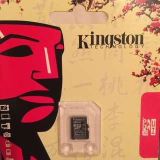 放 Kingston micro Sd card 64GB switch phone