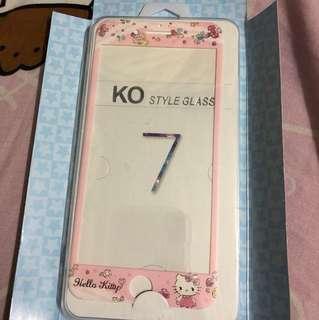 Iphone7plus kitty全屏玻璃貼