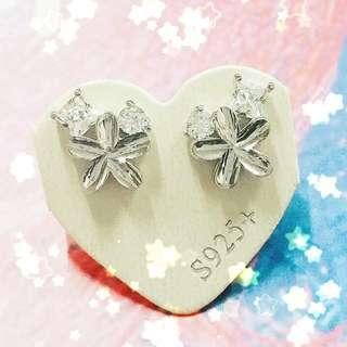 全新韓式耳環925