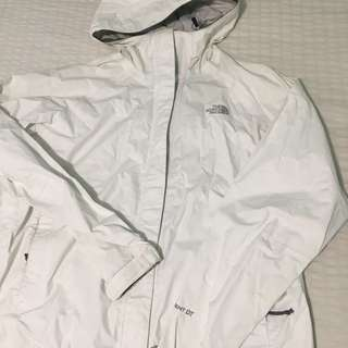 White North Face Wind Breaker