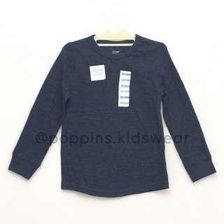 SALE Baju Anak Navy Sweatshirt Polos kaos anak