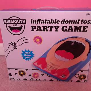 BigMouth inflatable donut toss game
