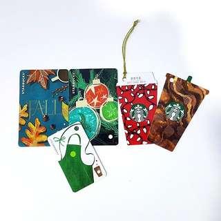 Starbucks Cards 5 for RM35
