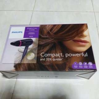 Philips Compact Hairdryer 1600 W