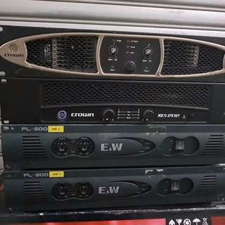 E&W PL500 Power Amplifier