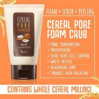 [iFactory] Cereal Pore Foam Scrub (100ml)