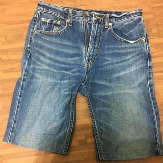 Levi's 牛仔短褲 30腰