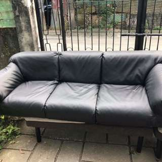 Black Floor Sofa