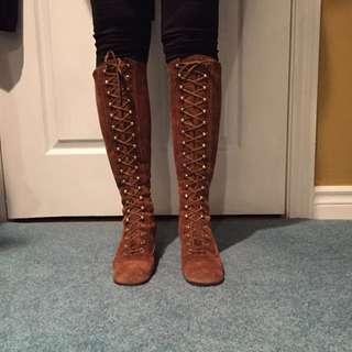 ✨SALE✨ Vintage 100% Suade Boots