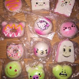 Small Assorted Squishies ~ $2 Each