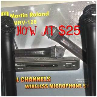 Martin Roland MRV-128 Wireless microphone