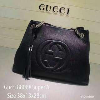 Gucci Soho Tote Bag Black Color