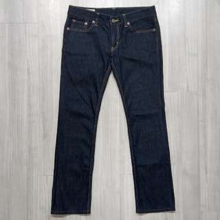 EDWIN 01311-2000  503 w31深色原色直筒牛仔褲
