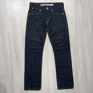 Levi's levis SQ523-0108 w31 L34 原色深色直筒牛仔褲 523 522 521