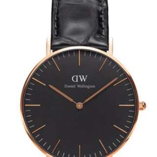 行貨 DW CLASSIC BLACK READING