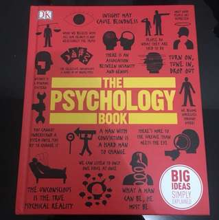 Big Ideas: The Psychology Book