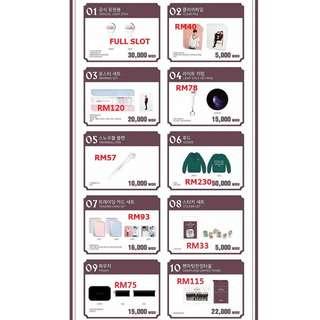 SEVENTEEN Caratland Limited Merchandise(preorder)