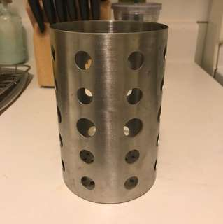Oneida stainless steel utensil holder