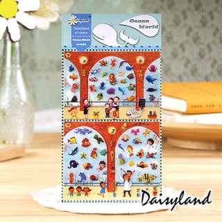 *Sale* Daisyland Stickers - Ocean World