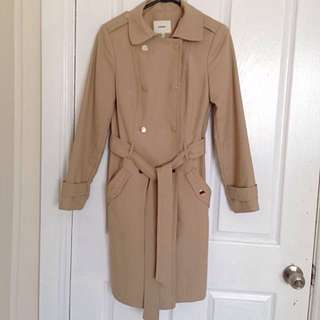 🌟Camel Trench Coat Size 6🌟