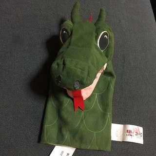 Brand New IKEA FANTASIVARLD Dragon 🐉 Hand Puppet