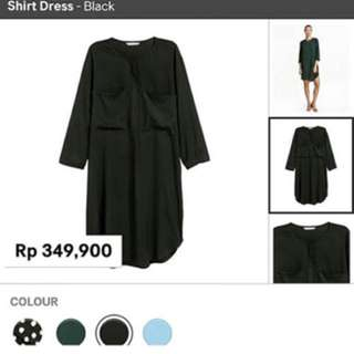 Hnm shirt dress polka