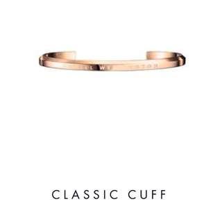 行貨全新 DW CLASSIC CUFF