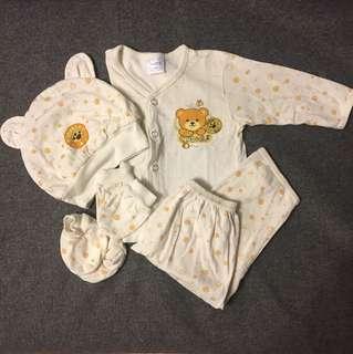 5pc set baby clothing