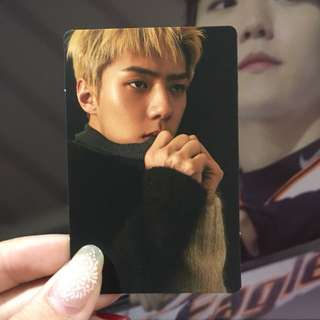 EXO SEHUN FOR LIFE LIMITED PHOTOCARD