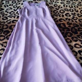 Lilac dress. Size 12