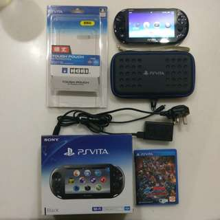 Ps Vita 2006 64GB with games