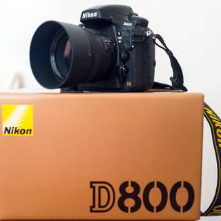 Nikon D800 Body Full Box Set