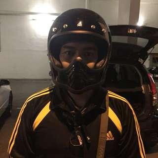 Helmet bell moto 3 copy gred A