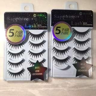Sapphire False Eyelashes 011 Love Lockdown