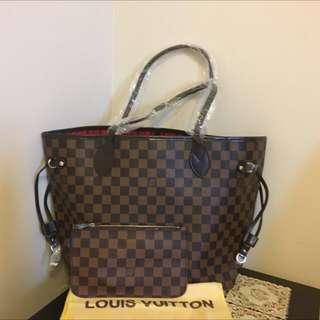 LV Handbag with mini purse