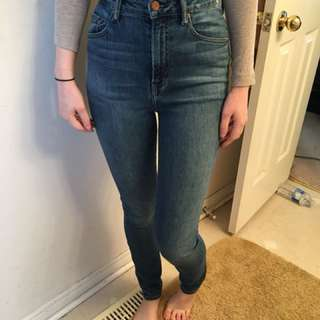 The Castings Super High Skinny Jeans