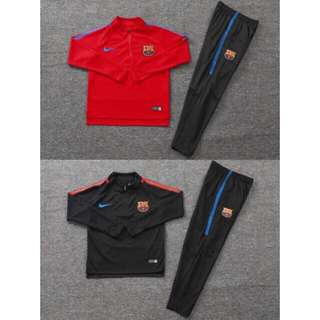 17/18 FC Barcelona Kids Training Suit