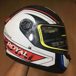 Brand New Royal Helmet