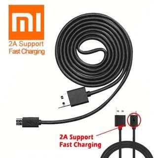 Xiaomi Kabel Data 2A Micro USB Support Fast Charging - Original