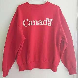 90's Vintage Canada Crewneck