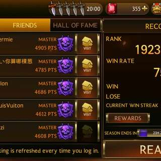 7k(Seven Knights) account server asia/global