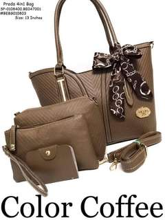 Prada 4in1 bag size : 13 inches