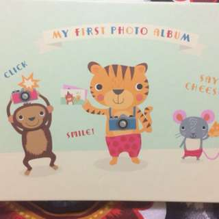 Baby's first photo album from Papyrus