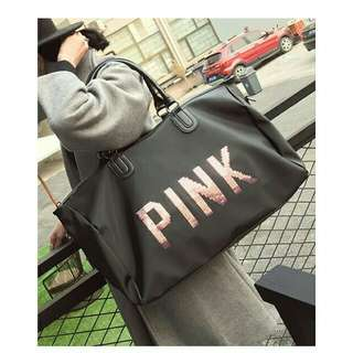ABS high quality pink traveling bag victoria secret